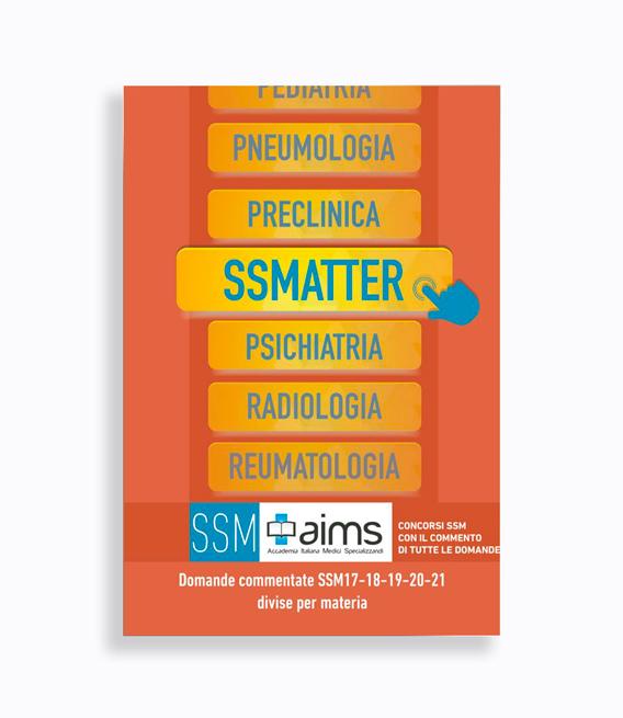 Manuale SSMatter – Domande commentate SSM2017, SSM2018, SSM2019, SSM2020 e SSM2021